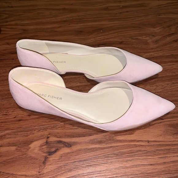 Marc Fisher Shoes - Blush Pink Flats